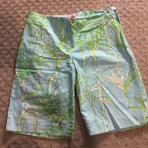 Lilly Pulitzer Bermuda style shorts